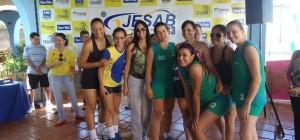 Meninas do Voleibol da AABB de Jataí