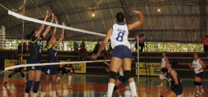Lance de partida de voleibol Feminino