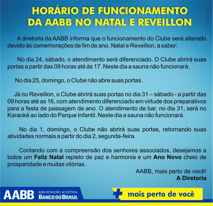 AABB FINAL DE ANO