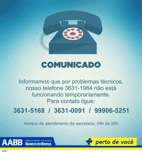 telefone AABB