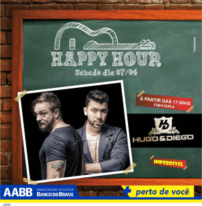 happy hour HUGO E DIEGO