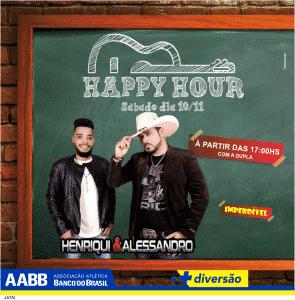 happy hour HUGO E DIEGO